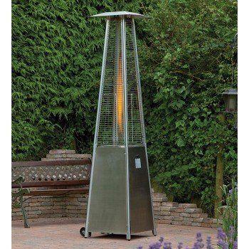 Flame Patio Gas Heater Garden Outdoor