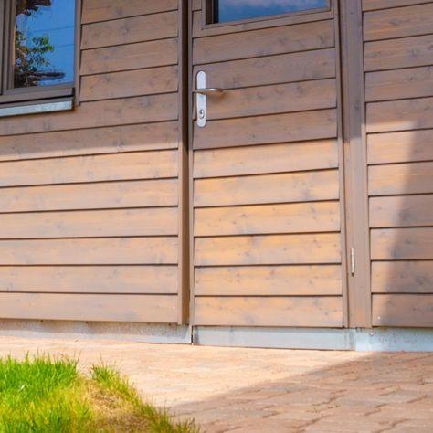 Gartenhaus Der Extraklasse Holzrahmen Standerbauweise Sichtdachstuhl Brettschichtholz Bis Zu 1 10m Grosse Dachvorsprung Gartenhaus Schalung