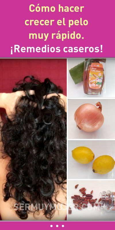 Como hacer crecer el pelo rizado rapidamente