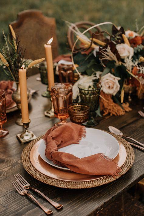 Summerfield Farms North Carolina, wedding table setting, rentals,