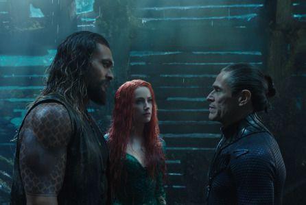 Aquaman 16 9m Wednesday Bests Last Jedi Black Panther Dc
