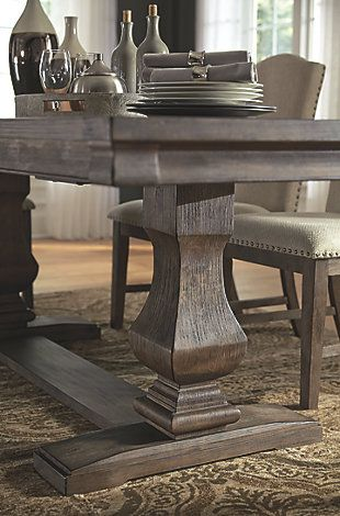 Johnelle Dining Room Table Ashley Furniture Homestore Luxury