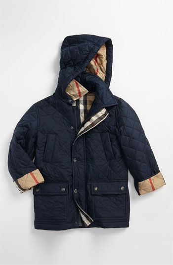 250 Burberry Quilted Jacket Burberry Quilted Jacket Boys Designer Clothes Kids Fall Outfits