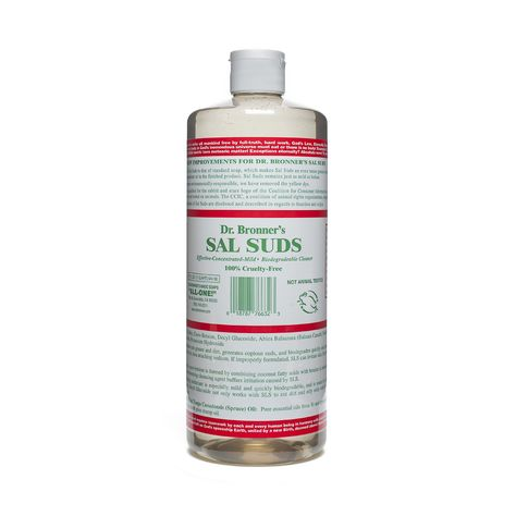 Dr Bronner S Sal Suds Biodegradable Cleaner Biodegradable