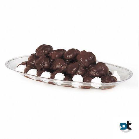 2 VASSOI PROFITTEROL OVALE TRASPARENTE MIS. 5 vaschetta pasticceria bignè dolci