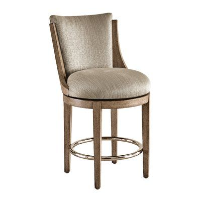 Carson Harmony 25 Bar Stool Upholstery Albuquerque Taupe