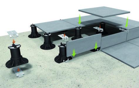 Clip Inferieur Pour Bordure 2 Bordures De Piscine Terrasse Carrelage Sur Plot Decoration De Terrasse Exterieure