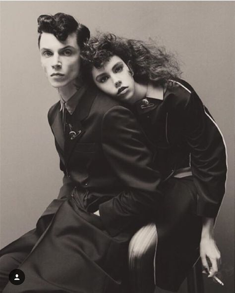 Julia Garner, Ash Stymest + More embrace androgynous style for Vogue Italia January 2016 by Steven Meisel [fashion]