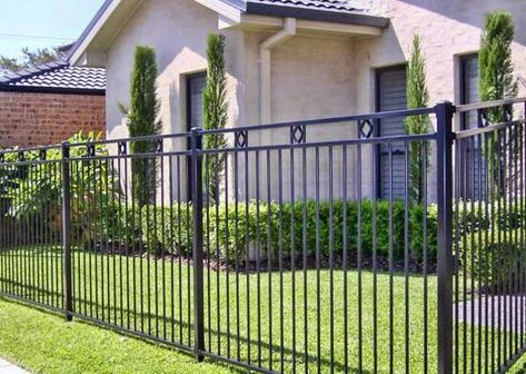 A beautiful fence can beautify your landscaping ideas and add cosiness to front yard and backyard designs