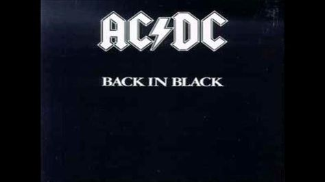That was yesterday: AC/DC - Back In Black (Full Album)