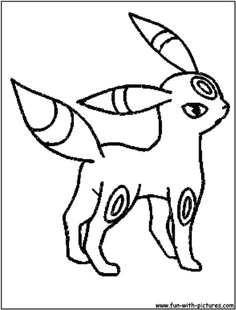 Pokemon Coloring Pages Umbreon From The Thousand Pictures On Line Regarding Pokemon Coloring Pag Pokemon Coloring Pages Cartoon Coloring Pages Coloring Pages