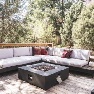 Portside Outdoor Low 3 Piece L Shaped Sectional Sectional Outdoor Sectional Sofa 3 Piece Sectional