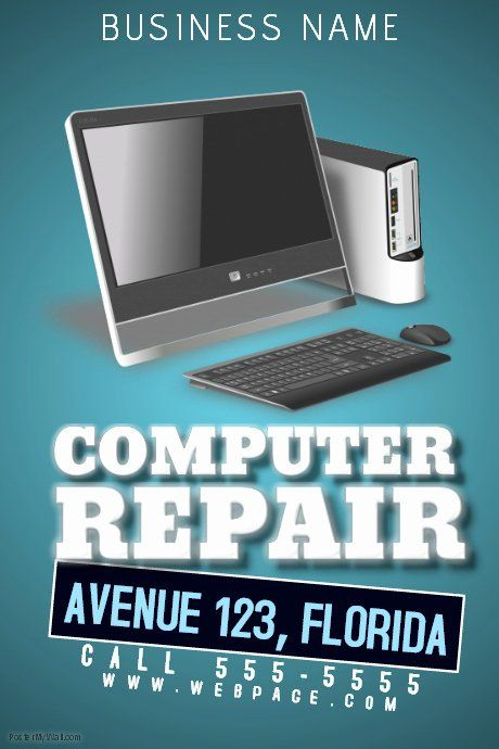 Computer Repair Flyer Template Lovely Puter Repair Flyer Template Flyer Template Computer Repair Flyer Design Templates