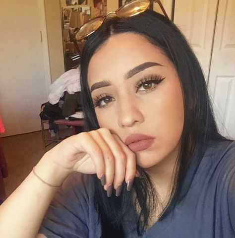 How the Kylie Jenner Lip Kits look on all different Skin Tones: @aimebbyyy Wearing Candy K