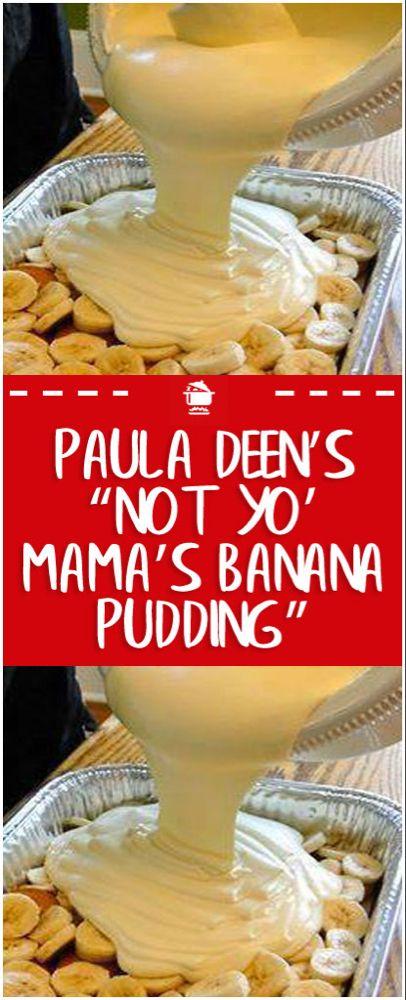 "Paula Deen's ""Not Yo' Mama's Banana Pudding"" – Page 2 – Home Famil. - Paula Deen's ""Not Yo' Mama's Banana Pudding"" – Page 2 – Home Family Recipes - Banana Pudding Paula Deen, No Bake Banana Pudding, Banana Pudding Desserts, Keto Pudding, Banana Dessert Recipes, Avocado Pudding, Chia Pudding, Banana Cream Pie Recipe Paula Deen, Banana Pudding With Cream Cheese Recipe"
