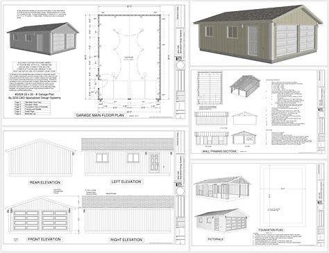 Image Result For Pdf Workshop Plans Layout Garage Plans Free Garage Design Garage Plans