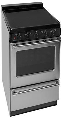 Eas7x0bp 20 Electric Smooth Top Range With Two 8 Inch And Two 6 Inch Elements 1 5 Inch Porcelain Freestanding Electric Ranges Electric Range Oven Racks