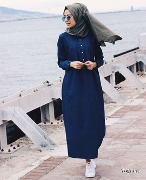 Mode Et Fashion Robe Longue Hijab Moderne Style 2019 2020 In 2020 Hijab Fashion Summer Hijab Fashion Muslim Fashion Outfits