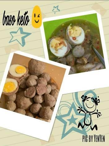 Resep Bakso Keto Kress Kenyal Mental Versi Menggunakan Food Processor Oleh Ummu Nayla Resep Keto Bakso Resep