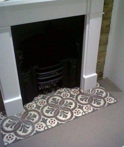 48++ Fireplace floor tile ideas info