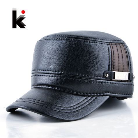 07c79e696 Men Baseball Caps Skull Embroidered Logo Flat Top Hats Cotton Snapback Flat  Cap Army Cadet Hat Women Gorros Hombre Hip Hop | Products | Baseball Cap,  ...