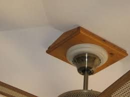 Image Result For How To Install A Fan On A Vaulted Ceiling Sloped Ceiling Lighting Installing Recessed Lighting Vaulted Ceiling Beams