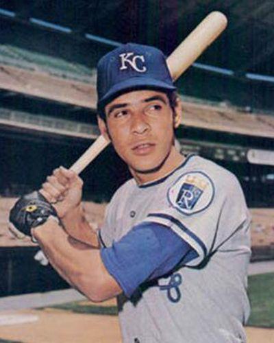 Amos Otis Kansas City Baseball Kansas City Royals Royals Baseball