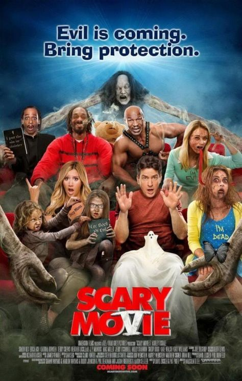 Scary Movie 5 Clip Lindsay Lohan And Charlie Sheen In Bed Together Scary Movie 5 Movies To Watch Movie Posters