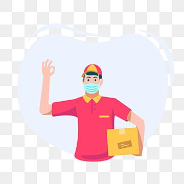 Delivery Man Gives The Package To The Customer Person Clipart Delivery Package Png And Vector With Transparent Background For Free Download Boy Illustration Illustration Free Vector Illustration