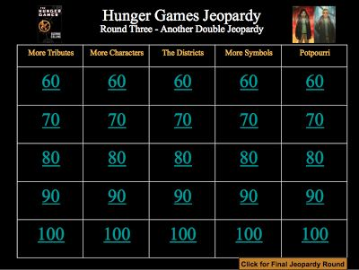 136 best The Hunger Games images on Pinterest Comic con, Fun - sample jeopardy powerpoint