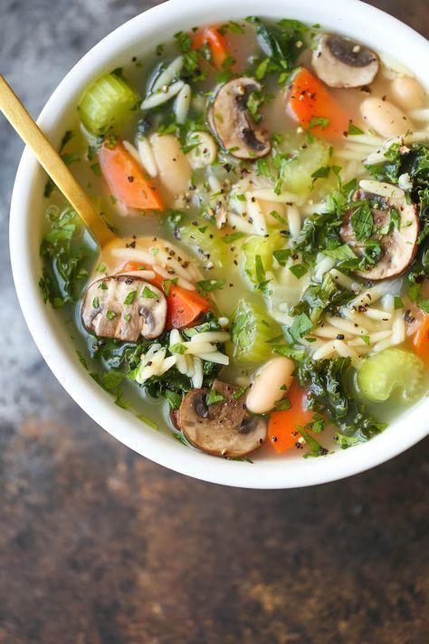 Detox Chicken Soup - Damn Delicious