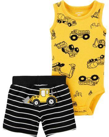 Preemie Baby Boys 5 Piece Carter/'s Bodysuits Captain Adorable Nautical Set New