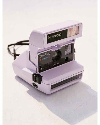 Vintage Camera Lavender Polaroid 600 Close-Up Instant Camera Lavender Aesthetic, Purple Aesthetic, Polaroid 600, Polaroid Cameras, Vintage Polaroid Camera, One Step Polaroid Camera, Polaroid Film, Dslr Nikon, Dslr Lenses