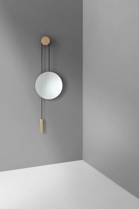 Rise & Shine Wall Mirror by Hunting & Narud