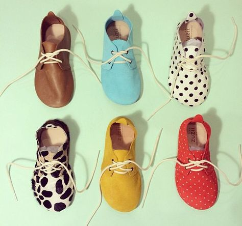 Children's footwear that's handmade and fancy from Zuzii