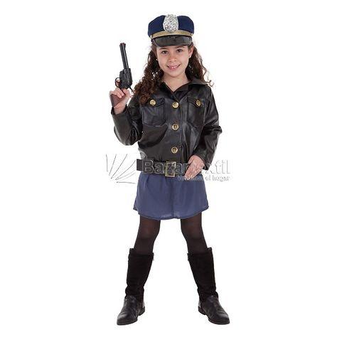 Disfraz Policia Niña