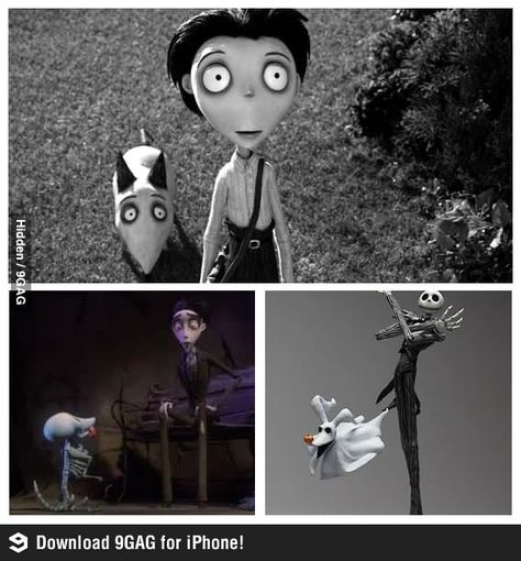 Just One Big Movie All Along Tim Burton Mind Blown Best Funny Pictures