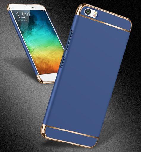 Luxury Electroplated 3 In1 Case For Xiaomi Mi5x 6x Redmi Note 4x 32gb 64gb 4x Pro 5a Note 5a 5plus Note5 Hard Pc Matte Fundas