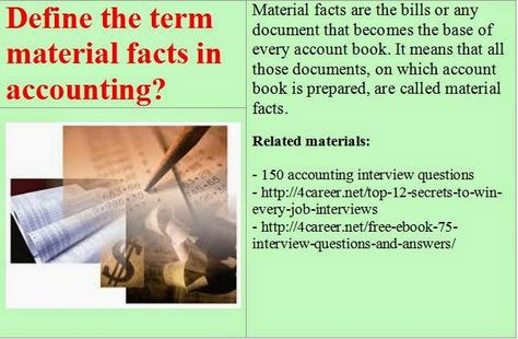 15 best basic accounting interview questions images on Pinterest - accounting interview questions