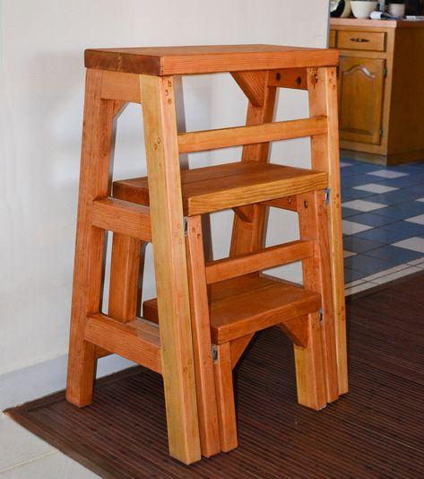Marvelous Closed Folding 3 Step Stool Options Custom Size 24L X Ibusinesslaw Wood Chair Design Ideas Ibusinesslaworg