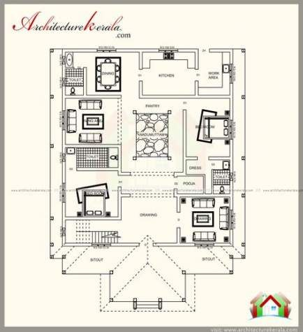65 Ideas House Plans Modern Luxury Woods Courtyard House Plans Kerala House Design Kerala Traditional House