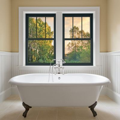 Double Hung Window Replacement By Renewal By Andersen Madison Wi Double Hung Windows Exterior Interior Window Trim Residential Windows