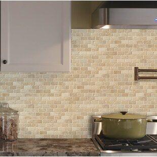 Msi Tuscany Ivory 2 X 4 Travertine Mosaic Tile Wayfair In 2020 Travertine Mosaic Tiles Stone Tile Backsplash Stone Tile Backsplash Kitchen