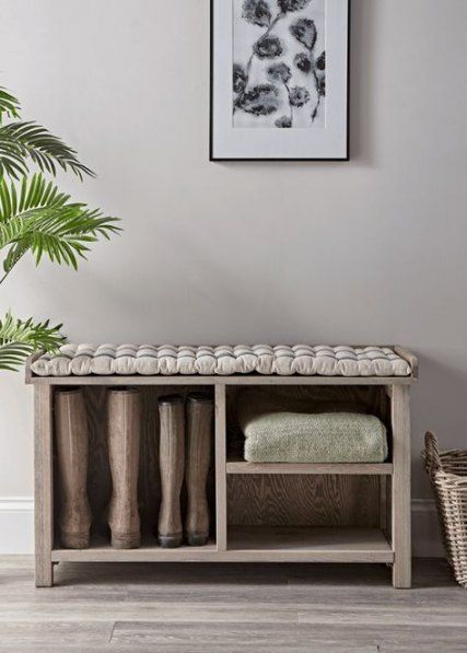 Narrow Hallway Storage Bench 53 Ideas Hallway Storage Bench Bench Seat Cushion Hallway Storage