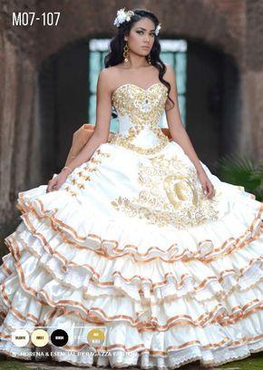 b070449185 Ruffled Charro Quinceanera Dress by Ragazza Fashion Style M07-107-Ragazza  Fashion-ABC