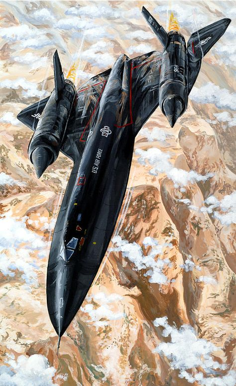 Blackbird Art Print by Charles Taylor Us Military Aircraft, Military Jets, Air Fighter, Fighter Jets, Avion Jet, Air Force, Black Beast, Fighter Aircraft, Aviation Art