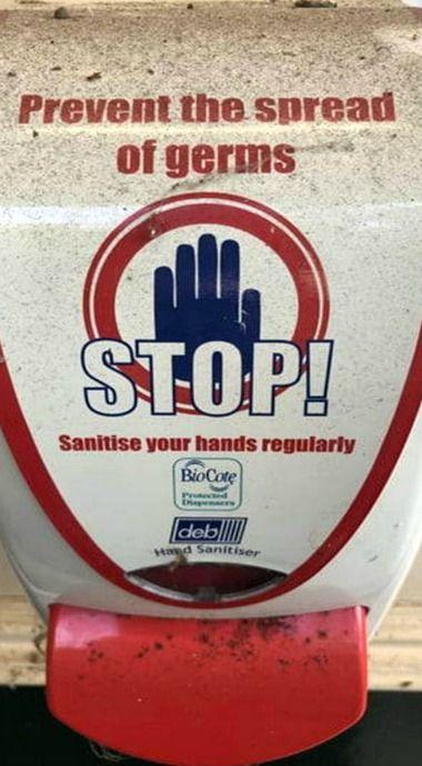 My New Hand Sanitizer Dispenser For My Desk In 2020 Hand