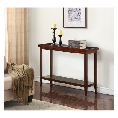 Prime Console Table Tobacco Linon Ibusinesslaw Wood Chair Design Ideas Ibusinesslaworg