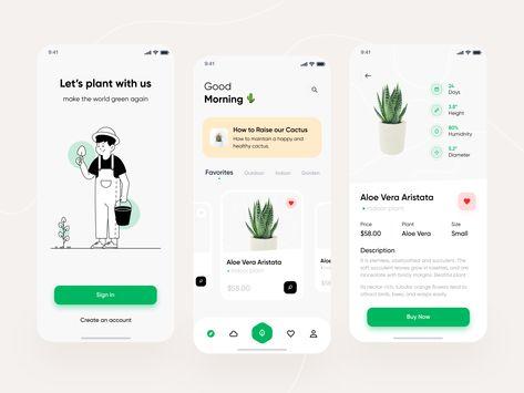 Planto Mobile App Exploration