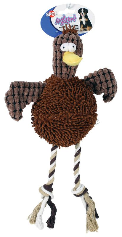 Ethical Dog Chicken 12 Inch Plush Dog